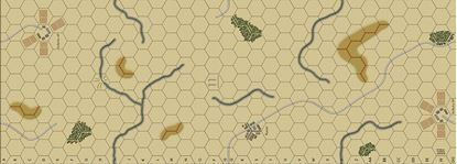 Picture of Imaginative Strategist Panzer Blitz Map 11 - 5/8 inch