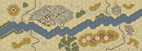 Picture of Imaginative Strategist Panzer Blitz Map 13 - 5/8 inch