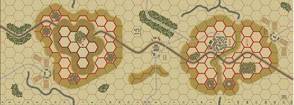 Picture of Imaginative Strategist Panzer Blitz Map 15 - 5/8 inch