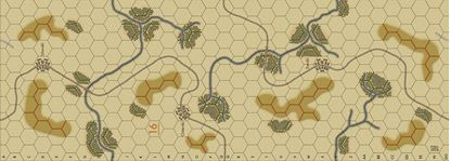 Picture of Imaginative Strategist Panzer Blitz Map 16 - 5/8 inch
