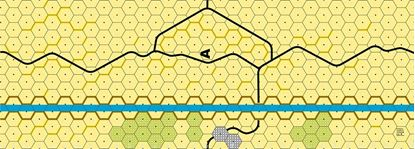 Picture of Imaginative Strategist Panzer Leader Desert Map A - 5/8 inch