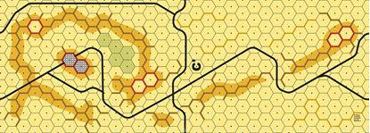 Picture of Imaginative Strategist Panzer Leader Desert Map C' - 5/8 inch