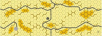 Picture of Imaginative Strategist Panzer Leader Desert Map D - 5/8 inch