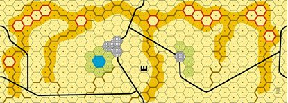 Picture of Imaginative Strategist Panzer Leader Desert Map E - 5/8 inch