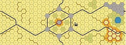 Picture of Imaginative Strategist Panzer Leader Desert Map E' - 5/8 inch