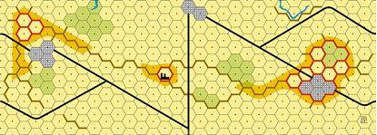 Picture of Imaginative Strategist Panzer Leader Desert Map F - 5/8 inch