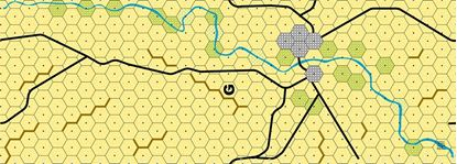 Picture of Imaginative Strategist Panzer Leader Desert Map G - 5/8 inch