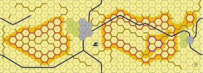 Picture of Imaginative Strategist Panzer Leader Desert Map H - 5/8 inch