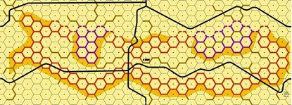 Picture of Imaginative Strategist Panzer Leader Desert Map I - 5/8 inch