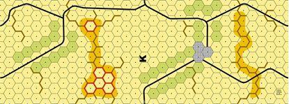 Picture of Imaginative Strategist Panzer Leader Desert Map K - 5/8 inch