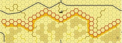 Picture of Imaginative Strategist Panzer Leader Desert Map L - 5/8 inch