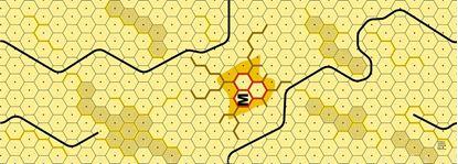 Picture of Imaginative Strategist Panzer Leader Desert Map M - 5/8 inch