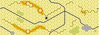 Picture of Imaginative Strategist Panzer Leader Desert Map N - 5/8 inch